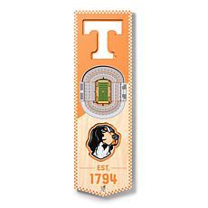 "Officially Licensed NCAA 6"" x 19"" 3D Stadium Banner - Volunteers"