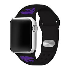 Officially Licensed NCAA Apple Watch Band- Kansas State(38/40mm Black)