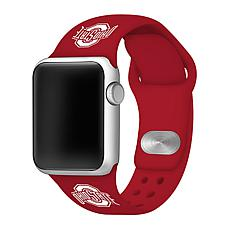 Officially Licensed NCAA Apple Watch Band - Ohio State (38/40mm Red)