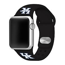 Officially Licensed NCAA Black 38/40MM Apple Watch Band - KY Wildcats