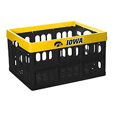 Officially Licensed NCAA Collapsible Crate - Iowa