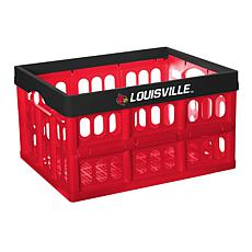 Officially Licensed NCAA Collapsible Crate - Louisville