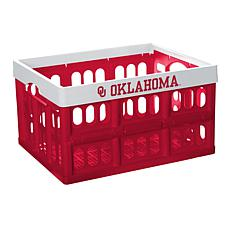 Officially Licensed NCAA Collapsible Crate - Oklahoma