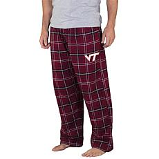 Officially Licensed NCAA Concepts Sport Men's Flannel Pant -VA Tech