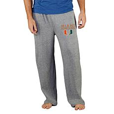 Officially Licensed NCAA Concepts Sport Men's Knit Pant - Miami