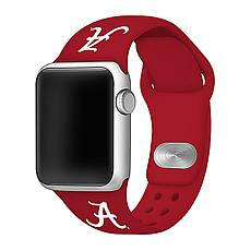 Officially Licensed NCAA Crimson 42/44MM Apple Watch Band- Alabama