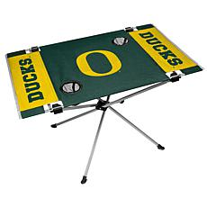 Officially Licensed NCAA Endzone Folding Tailgate Table - Oregon
