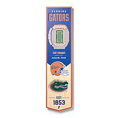 Officially Licensed NCAA Florida Gators 3D Stadium Banner