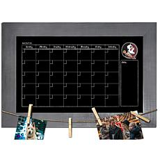 Officially Licensed NCAA Florida State Monthly Chalkboard w/ Pins
