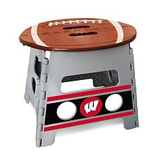 Officially Licensed NCAA Folding Step Stool - University of Wisconsin