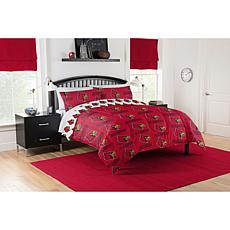 Officially Licensed NCAA Full Bed in a Bag Set - Louisville Cardinals