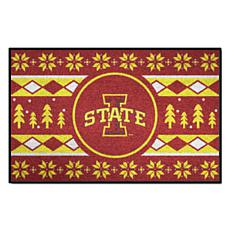 Officially Licensed NCAA Holiday Sweater Mat - Iowa State University