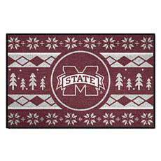 Officially Licensed NCAA Holiday Sweater Mat - Mississippi State