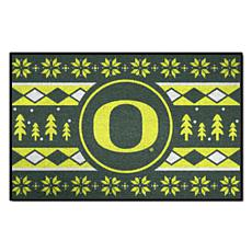 Officially Licensed NCAA Holiday Sweater Mat - University of Oregon