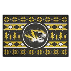 Officially Licensed NCAA Holiday Sweater Mat - University of Missouri