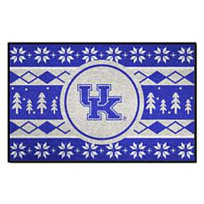 Officially Licensed NCAA Holiday Sweater Mat - University of Kentucky