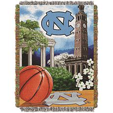 Officially Licensed NCAA Home Field Advantage Throw - North Carolina