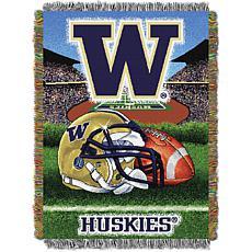 Officially Licensed NCAA Home Field Advantage Throw - Washington