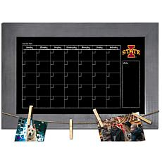 Officially Licensed NCAA Iowa State Monthly Chalkboard w/ Clothespins