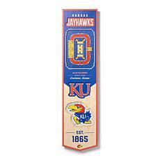 Officially Licensed NCAA Kansas Jayhawks 3D Stadium Banner