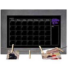 Officially Licensed NCAA Kansas State Monthly Chalkboard w/ Pins