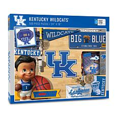 Officially Licensed NCAA Kentucky Wildcats Retro 500-Piece Puzzle