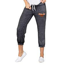 Officially Licensed NCAA Ladies Knit Capri Pant - Oklahoma State