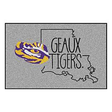 """Officially Licensed NCAA Louisiana State 19"""" x 30"""" Southern Style Rug"""