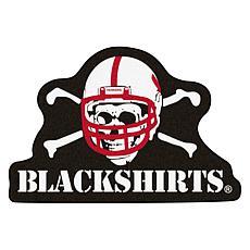 Officially Licensed NCAA Mascot Rug - University Nebraska Blackshirts