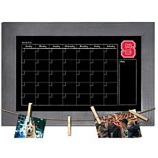 Officially Licensed NCAA NC State Monthly Chalkboard w/ Clothespins