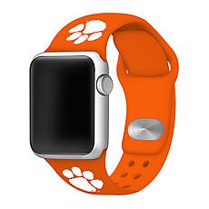 Officially Licensed NCAA Orange 42/44MM Apple Watch Band- Clemson T...