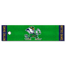 Officially Licensed NCAA Putting Green Mat - University of Notre Dame