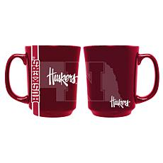 Officially Licensed NCAA Reflective 11 oz. Coffee Mug - Nebraska