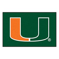 Officially Licensed NCAA Rug - University of Miami