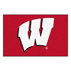 Officially Licensed NCAA Rug - University of Wisconsin