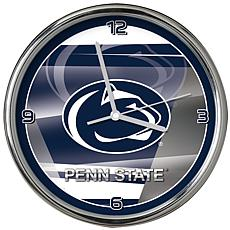 Officially Licensed NCAA Shadow Chrome Clock - Penn State