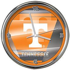 Officially Licensed NCAA Shadow Chrome Clock - University of Tennessee