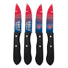 Officially Licensed NCAA Steak Knife Set - Chicago Cubs
