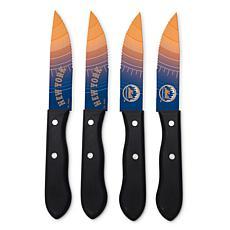 Officially Licensed NCAA Steak Knife Set - New York Mets