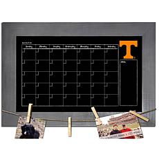 Officially Licensed NCAA Tennessee Monthly Chalkboard w/ Clothespins