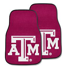 Officially Licensed NCAA Texas A&M University Carpet Car Mat 2-Pc Set