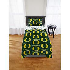 Officially Licensed NCAA Twin Bed in a Bag Set - Oregon Ducks