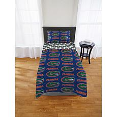 Officially Licensed NCAA Twin XL Bed in a Bag Set - Florida Gators