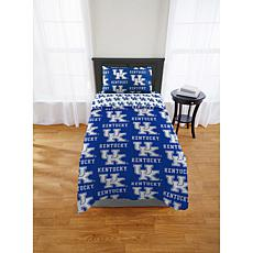 Officially Licensed NCAA Twin XL Bed in a Bag Set - Kentucky Wildcats