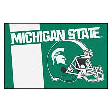 Officially Licensed NCAA Uniform Rug - Michigan State University