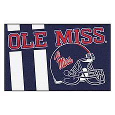 Officially Licensed NCAA Uniform Rug - Ole Miss