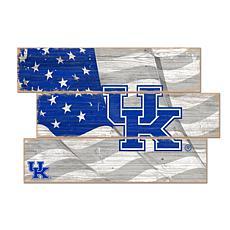 Officially Licensed NCAA University of Kentucky Three Plank Flag