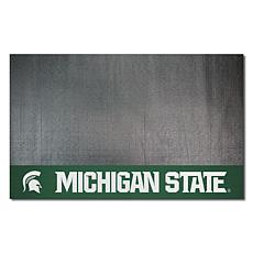 Officially Licensed NCAA Vinyl Grill Mat - Michigan State University
