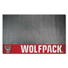 Officially Licensed NCAA Vinyl Grill Mat- N. Carolina State University