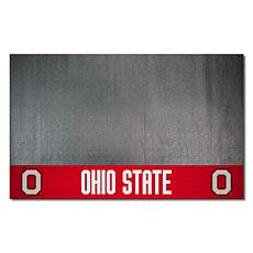 Officially Licensed NCAA Vinyl Grill Mat - Ohio State University